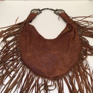 db8198a6bbe6 Free People Bags - Willow Fringe Bag Free People x Totem